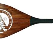 Fatstick adjustable oak wood carbon paddle