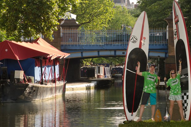 grand union canal sup challenge