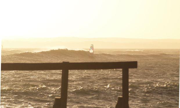 Hayling Island windsurfing 1
