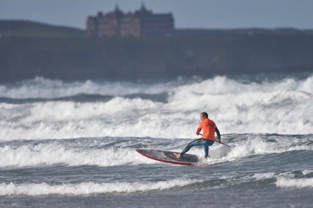 Matt Barker-Smith Watergate Bay 2015 SUP Champs