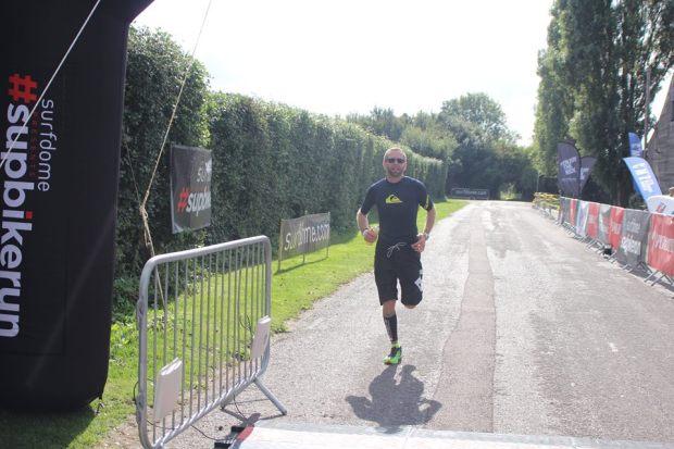 Simon Jeffrey supbikerun run