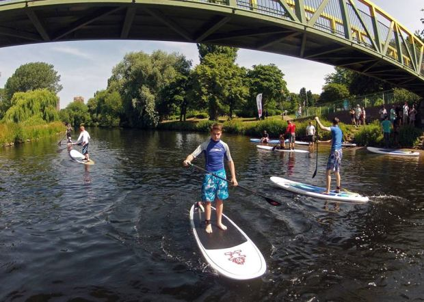 Central SUP in Tamworth