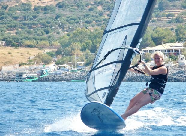 Peligoni windsurfing Zante