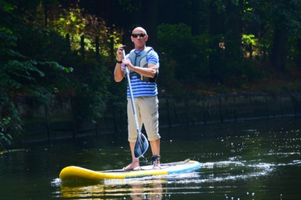 Norfolk Broads SUP Club paddling
