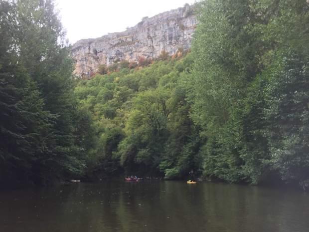 River Cele and Lot, France