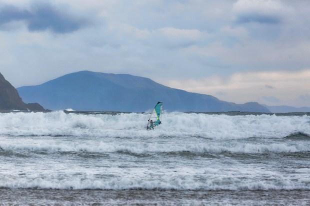 Doug Paton West Coast Ireland windsurfing