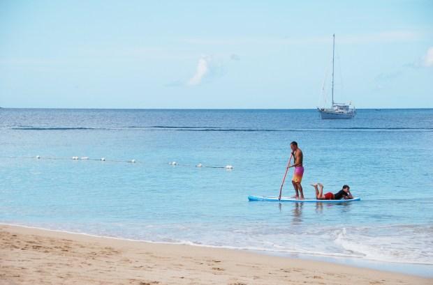 Rodney Bay SUP, St Lucia, Caribbean