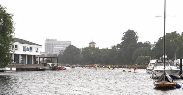 N1SCO racing, The Thames, London