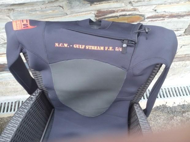 NCW's mini front zip