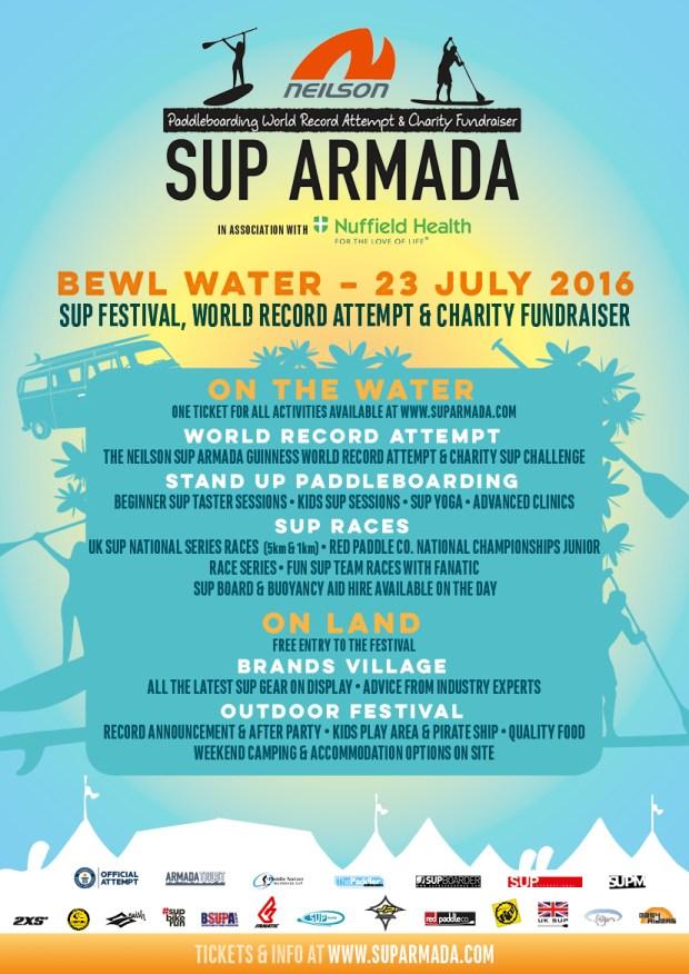 Neilson SUP Armada 2016 Poster