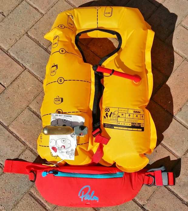 Palm Equipment Glide float belt inflated
