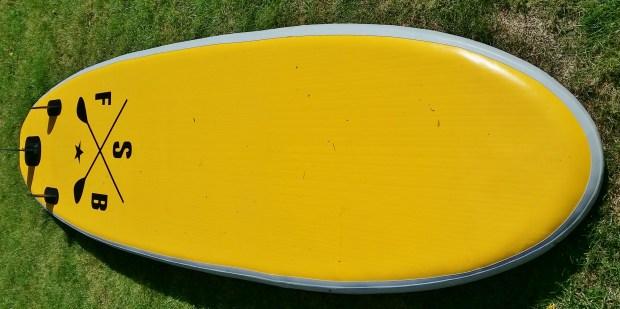 Fatstick iSUP hull profile