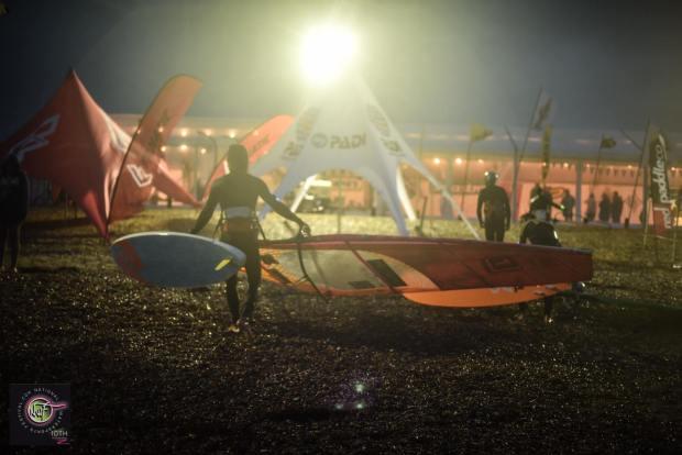 Night windsurfing action NWF 2016 Pic: Globalshots