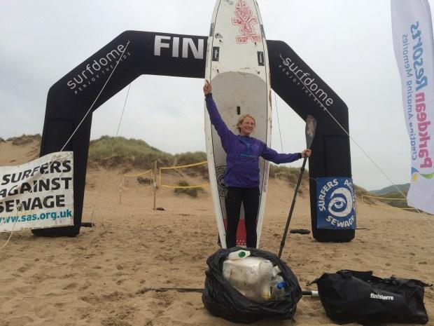 Cal Major Paddle Against Plastic
