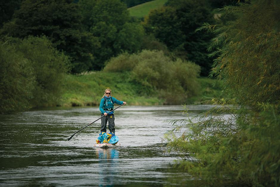 Cal Major on the River Severn