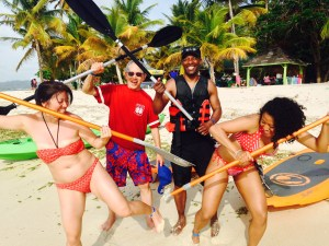 Stand Up Paddle Tobago Fun