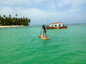 Paddle along Buccoo Reef