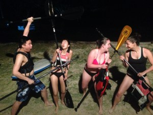 Attack of the stand up paddle