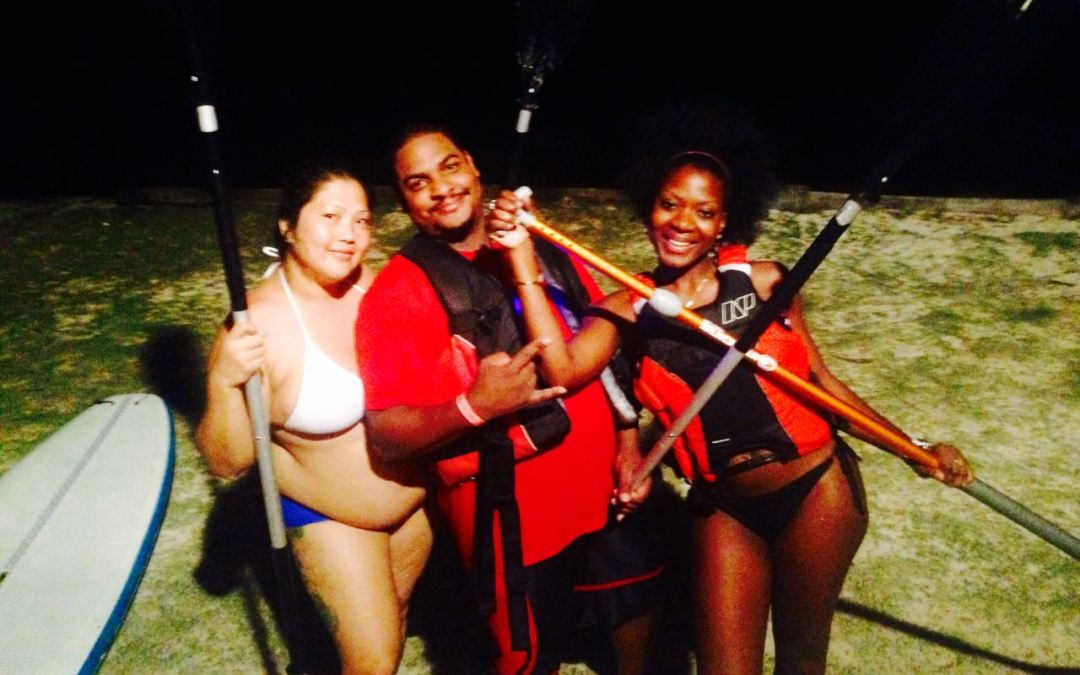 Stand Up Paddle at Night