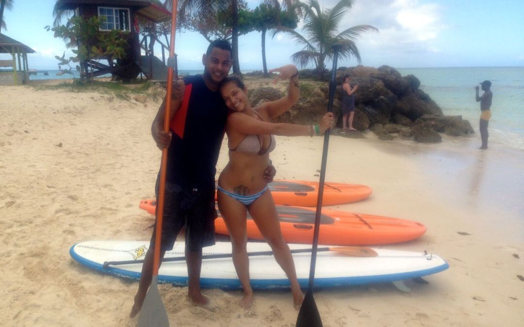 Learning to Stand Up Paddle for your Birthday!