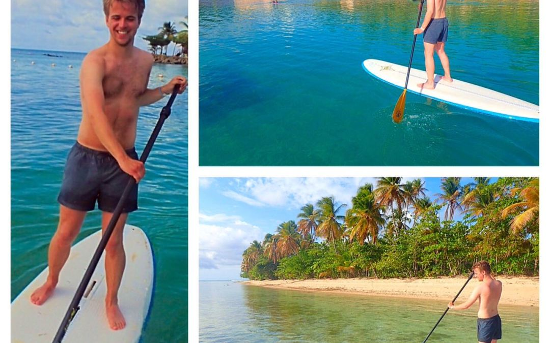 SUP in Tobago