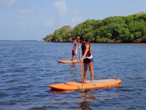Paddle across the Lagoon