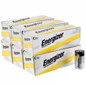 Energizer Industrial C Alkaline Batteries - 4 Pack