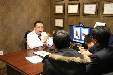 Dr. Park with Penile Implant Research Fellow