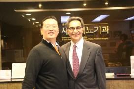 Dr. Park and Dr. Francois Eid