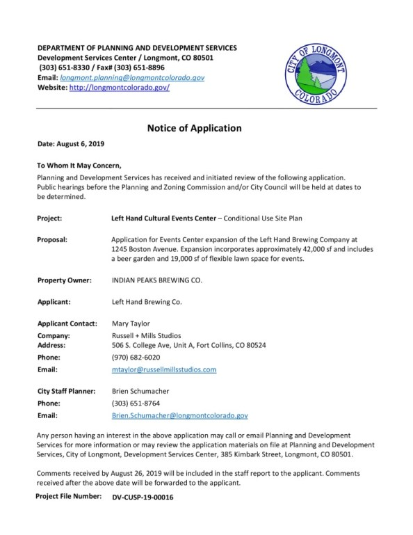thumbnail of Notice of Application 08062019