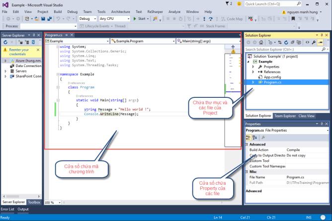 Lập trình C# cho người mới hiệu quả