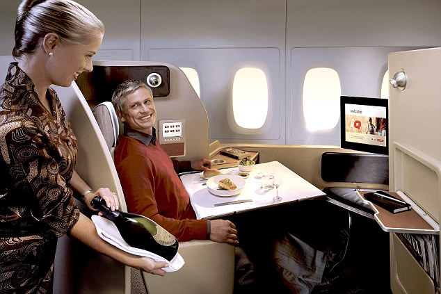 Image result for first class passengers