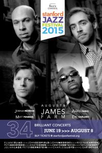 Stanford Jazz Festival 2015 poster