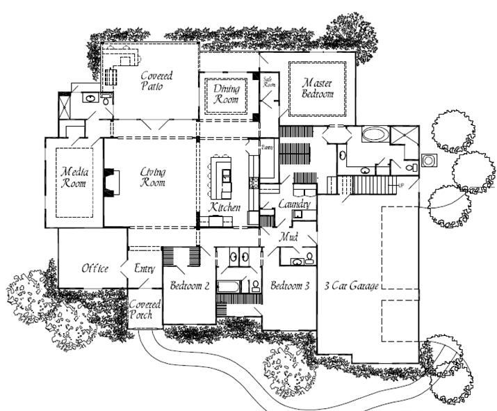 Alfred floorplan