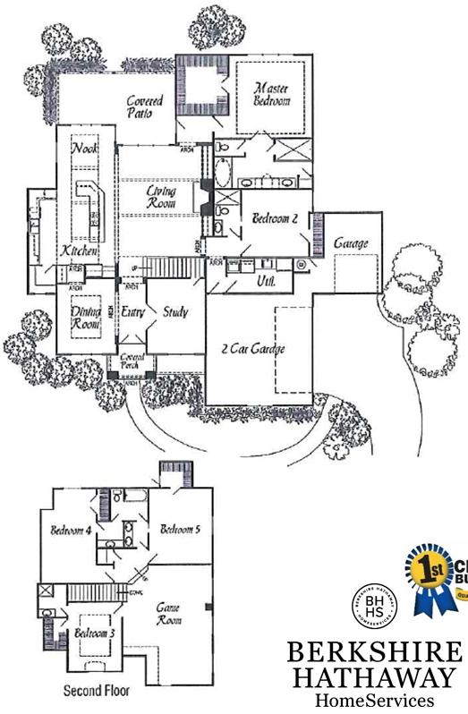 Lady Claire floorplan