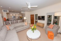 Lower Living Room/Kitchen | Staniel Cay Rentals