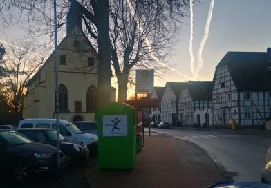 Heute morgen in Datteln-Horneburg.