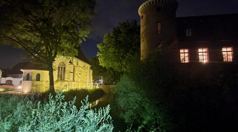 Schloss Horneburg bei Nacht