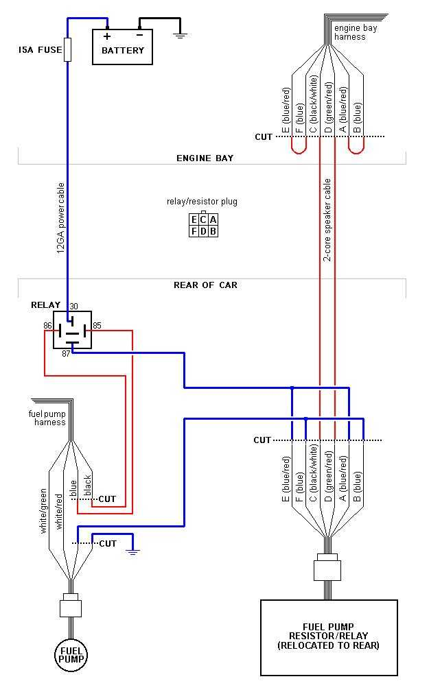 mazda rx7 fuel pump rewire diagram  stanis
