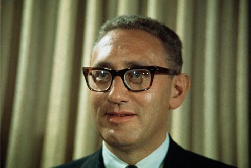 Кисинџер непосредно након што је постао саветник за споњну политику председника САД Ричарда Никсона, 1968.