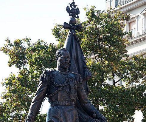 Споменик цару Николају Другом у Београду