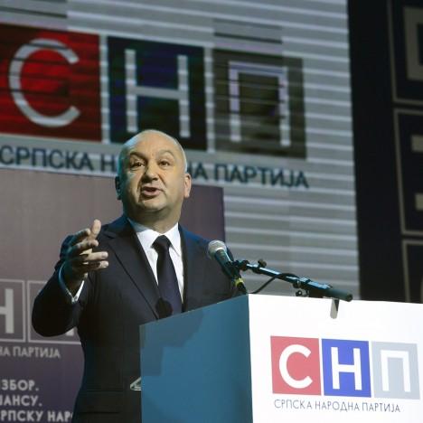 Ненад Поповић, председник Српске народне партије (Фото: Танјуг)