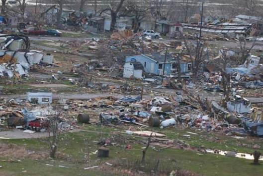 Sand Springs/Оклахома, 26.03.2015 - последице торнада у савезној држави Оклахоми