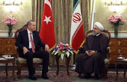 Техеран, 07.04.2015 - сусрет иранског председника Хасана Роханија и председника Турске Реџепа Тајипа Ердогана