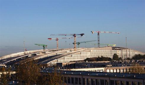 Нова зграда команде НАТО у изградњи у Бриселу (Фото: Ројтерс)
