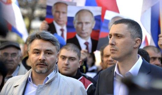 Владан Глишић и Бошко Обрадовић (архивска фотографија)