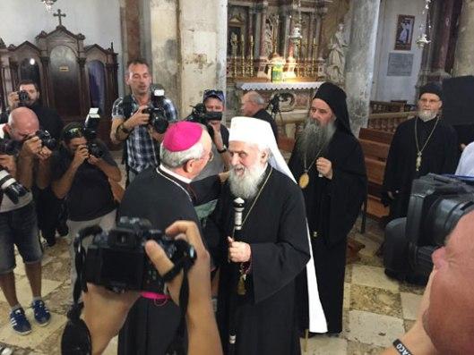 Сусрет хришћанске љубави у цркви Свете Стошије