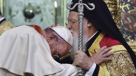 Папа и васељенски патријарх