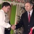 28 декабря 2011 г. в гостях у воспитанников Станьковского детского дома побывал вице-премьер Беларуси Сергей Румас