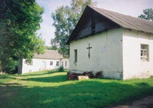 Здание бывшей монастырской больницы в Освее. Конец XVIII века. Фото — globus.tut.by